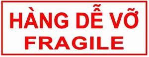 Con dấu hàng dễ vỡ - Fragile
